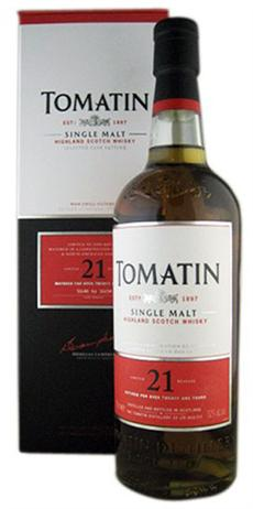 Tomatin Scotch Single Malt 21 Year
